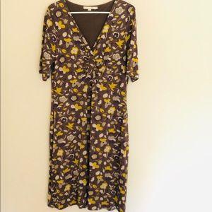 Boden Floral Dress Size 12